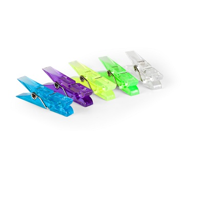 MINI CLIP NEON 20 PZ.35 MM
