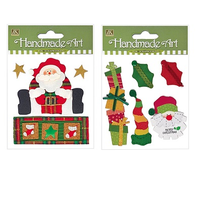 STICKERS NATALE 3D HAND MADE