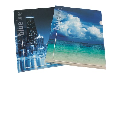 CARTELLINA L BLUE SET 4 PZ.