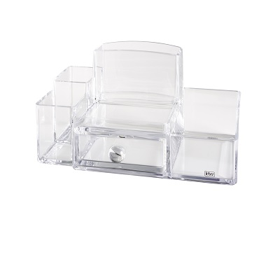 DESK ORGANIZER ACRIL. 6 SCOMP.